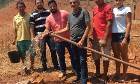 Prefeito Paulo Lustosa inaugura sistema de abastecimento d'água em São Gonçalo do Gurgueia