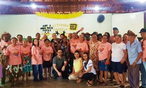 Idosos de São Gonçalo do Gurgueia participam de palestra alusiva ao Setembro Amarelo