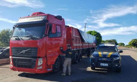 PRF flagra veículo de carga com 23 toneladas de excesso de peso na BR 135