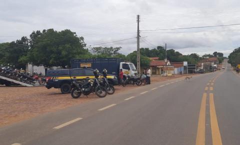 PRF deflagrou mais uma etapa da Operação Lábaro no Extremo-Sul do Piauí