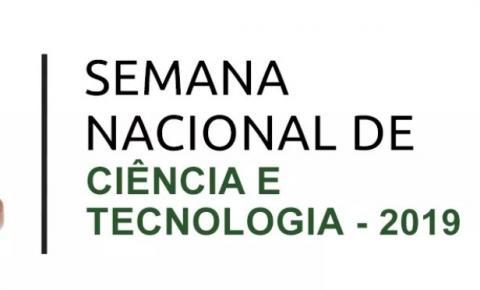 Semana Nacional de Ciência e Tecnologia do IFPI Corrente acontecerá nos dias 13 e 14