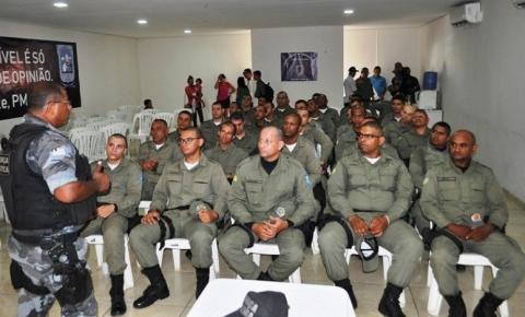 Policiais Militares participam de Curso de Nivelamento de Conhecimento Tático em Avelino Lopes