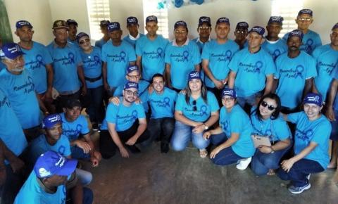 Comunidade da zona rural de São Gonçalo do Gurgueia participa de ação alusiva ao Novembro Azul