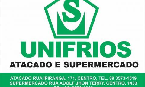 Comece a semana com os produtos do Supermercado Unifrios, o melhor de Corrente e região!