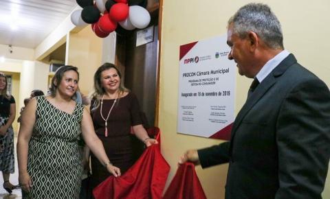 Em Corrente, Ministério Público e Legislativo Municipal inauguram primeiro Procon-Câmara do Piauí