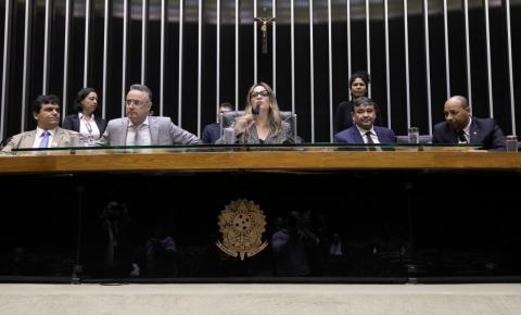 Rejane Dias preside Sessão na Câmara dos Deputados em homenagem ao Dia do Evangélico