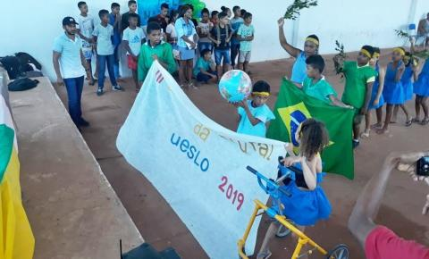 Estudantes da zona rural de São Gonçalo do Gurgueia participam de Gincana Cultural