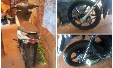 Polícia Militar recupera em Redenção do Gurgueia moto furtada em Monte Alegre e prende envolvidos