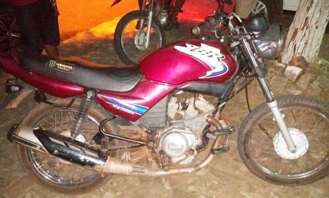 Polícia Militar recupera em Parnaguá moto furtada em Corrente