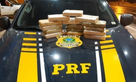 PRF apreende carregamento de cocaína e prende traficante em Floriano