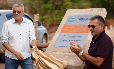 Prefeitura de São Gonçalo do Gurgueia inaugura importantes obras na zona rural do município