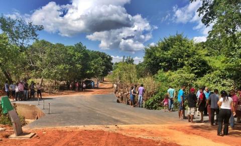 Prefeitura de São Gonçalo do Gurgueia entrega nova obra à comunidade da zona rural