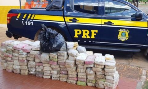 PRF apreende cocaína avaliada em R$ 24 milhões em Picos