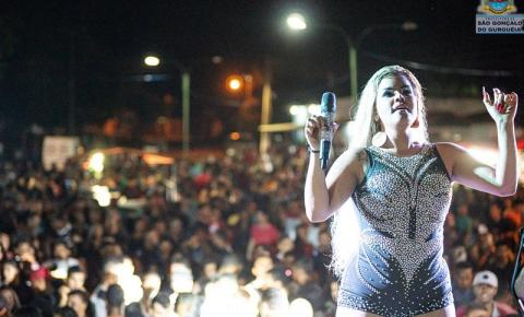 Shows e diversas atrações marcaram a noite de comemoração dos 24 anos de aniversário de São Gonçalo do Gurgueia!
