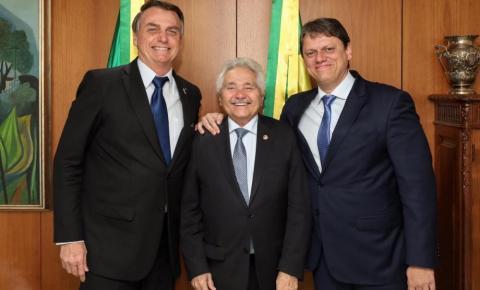 Senador Elmano afirma que Bolsonaro poderá vir a Bom Jesus para inaugurar a BR 135