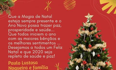 Mensagem de Natal do prefeito de São Gonçalo do Gurgueia