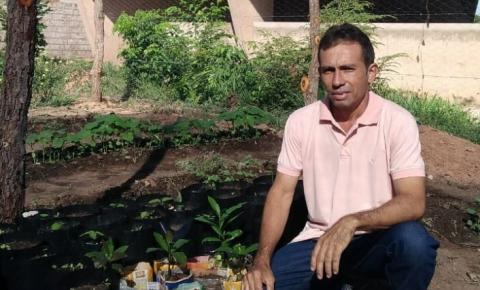 Conheça o viveiro de mudas e horta comunitária de São Gonçalo do Gurgueia