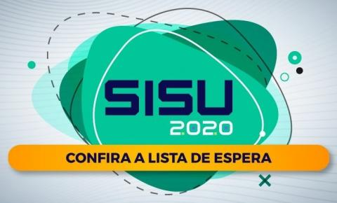 IFPI divulga Lista de Espera do SISU