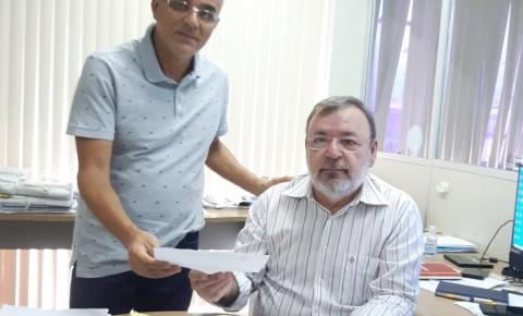 Prefeito de São Gonçalo do Gurgueia denuncia à SEMAR rompimento de barragem em canteiro de obras da Usina Solar São Gonçalo