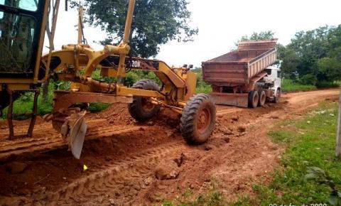 Obras de recuperação de estradas da zona rural de São Gonçalo do Gurgueia continuam