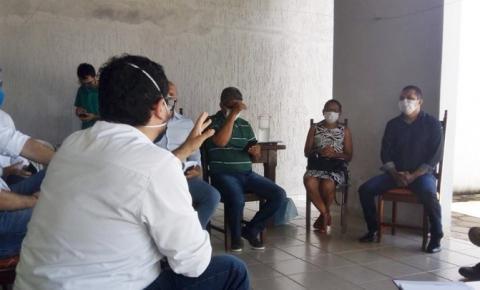 Prefeitos de São Gonçalo do Gurgueia, Corrente e Gilbués defendem o fechamento do canteiro de obras da Usina Solar São Gonçalo