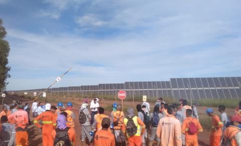 Enel Green Power envia nota e afirma que segue as recomendações de saúde no canteiro de obras do Parque Solar São Gonçalo