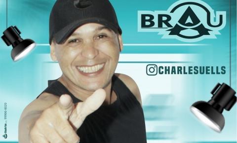 Neste domingo tem live do Charles Brau a partir das 16h!