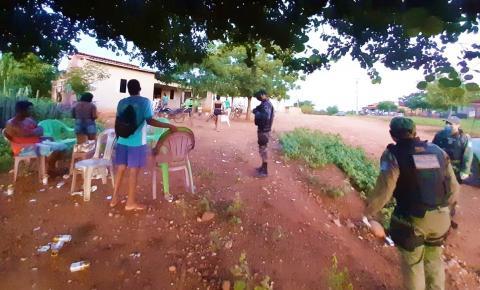Polícia Militar fecha bares e estabelecimentos comerciais nas zonas urbana e rural de Júlio Borges