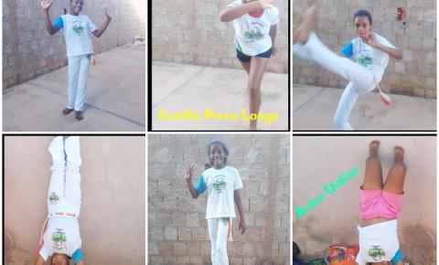 Crianças do SCFV de São Gonçalo do Gurgueia participam de projeto inédito de capoeira online