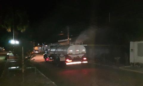 Prefeitura de São Gonçalo reforça os cuidados contra o coronavírus realiza a sanitização de vias públicas