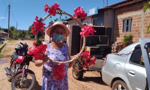 Secretaria de Assistência Social de São Gonçalo leva arraiá até os idosos
