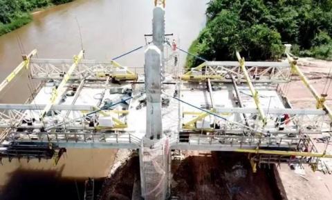 Previsão de entrega da nova ponte sobre o rio Parnaíba em Santa Filomena é para dezembro
