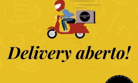 Delivery Coelho Café!  Peça agora mesmo!