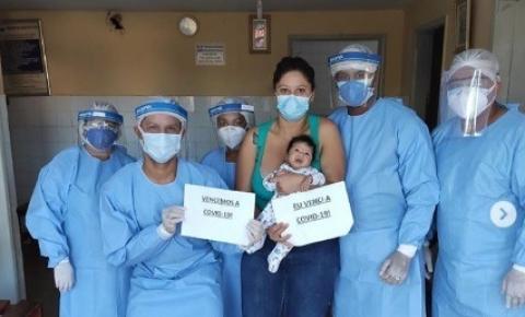 VITÓRIA: Bebê recém -nascido internado com Covid recebe alta no Hospital Regional de Corrente