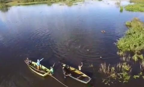 Veículo de empresário desaparecido em Curimatá é encontrado submerso na Barragem Vereda da Cruz