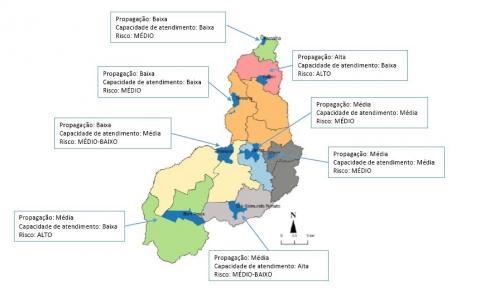Extremo-Sul do Piauí tem alto risco epidemiológico da Covid-19