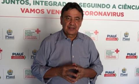 Wellington Dias lamenta marca de mais de mil óbitos por covid-19 no Piauí