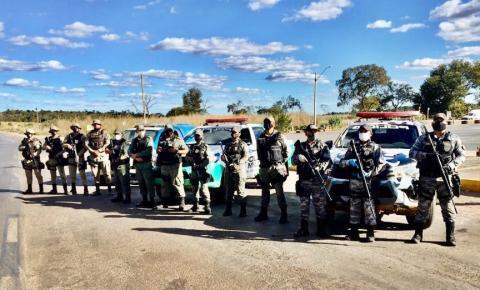Polícia Militar do Piauí e da Bahia dão início à operação conjunta para combate ao roubo de cargas e tráfico de drogas