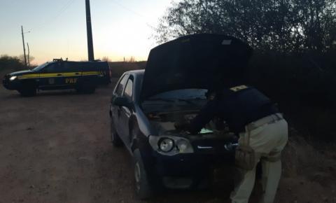 PRF prende homem por Receptação e recupera veículo com registro de roubo/furto na BR 135