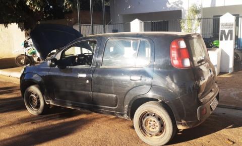 PM recupera dois veículos roubados e prende um homem por porte ilegal de arma de fogo em Avelino Lopes