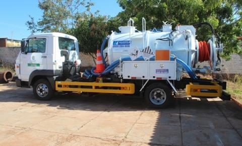 Agespisa realiza manutenção da rede de esgoto em Corrente