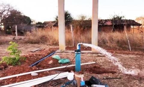 Comunidade Porto Alegre, em São Gonçalo do Gurgueia, e beneficiada com sistema de abastecimento d'água