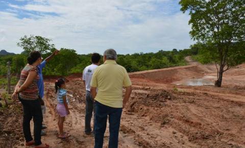 Prefeito Jesualdo Cavalcanti visita barragens comunitárias da zona rural de Corrente