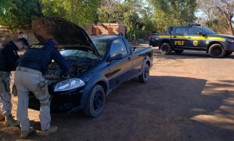 Em Corrente/PI: PRF recupera na BR 135 veículo roubado em Salvador/BA e prende homem por Receptação de Veículos