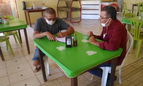 Vigilância Sanitária de Gilbués propõe parceria com comércio local para viabilizar melhor condições de higiene e atendimento para a população