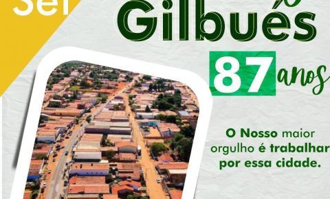Leo Matos felicita Gilbués pelos seus 87 anos