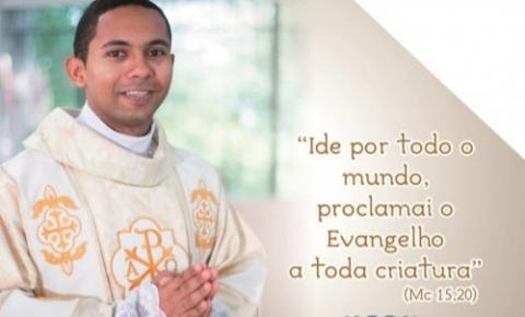 Diácono Zorenilton Tavares Reis, natural de Gilbués, será ordenado sacerdote na Paróquia Nossa Senhora Divina Pastora