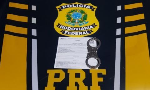PRF prende homem condenado por Estupro de Vulnerável na BR 135 em Cristalândia