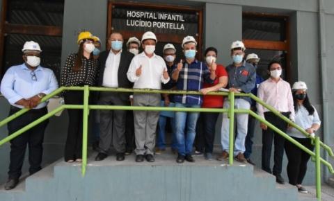 Governo entrega reforma do Hospital Infantil até dezembro