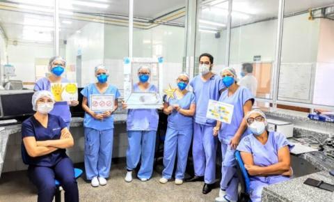 HGV fica em 4º lugar em competição com hospitais de todo Brasil